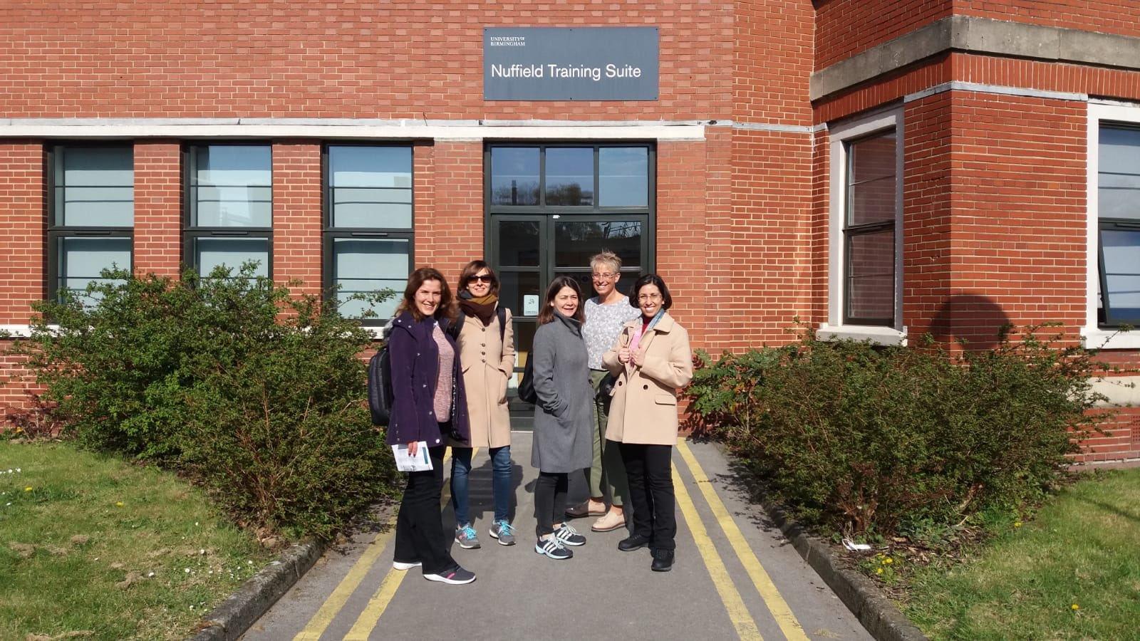 Birmingham visit